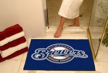 MLB - Milwaukee Brewers Fan Cave Decor, Tailgating Gear and Car Accessories / Find the Latest Decor for your Milwaukee Brewers Man Cave, MLB Accessories for your car or truck, and Buy Gear for Tailgaters
