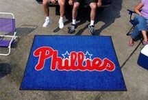 MLB - Philadelphia Phillies Fan Cave Decor, Tailgating Gear and Car Accessories / Find the Latest Philadelphia Phillies Man Cave Decor, Tailgating Supplies and MLB Automotive Accessories for you Car or Truck