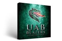 University of Alabama at Birmingham Tailgating Gear, UAB Man Cave Decor, Blazers Car Fan Accessories / Get University of Alabama Birmingham Tailgating Games and Accessories like Cornhole and Washers, Man Cave Decor and Games, UAB Air Hockey, Foosball, Blazers Pool Tables, Lighting, Car Floor Mats and More!