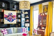 EcoBalanza loves Colorful Spaces / Interior design that inspires, focused around bright and vivid colors and patterns