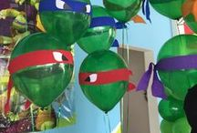 Ninja Turtle Party Ideas / Ninja Turtle Party Ideas | Molossi Designs create unique, captivating and personalised pieces for your next event. www.molossi.com.au