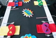 Superhero Party Ideas / Superhero Party Ideas | Molossi Designs create unique, captivating and personalised pieces for your next event. www.molossi.com.au