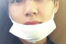 → kim taehyung / → the sweetest lil thing, too precious,  a lil cub !!