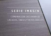 Serie Imagin | Interior Doors · Puertas Interior / Combinación de exclusivos lacados, tintes y altos brillos. #puertasdeinterior #puertasdiseño #puertasmodernas #puertas