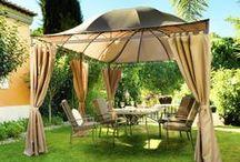 Muebles de Jardín / Esta #primavera disfruta del buen tiempo en tus espacios de exterior, para ello desde AKI Bricolaje te proponemos este tablón de #Muebles de #Jardin para que estéis al tanto de las útimas tendencias en  #decoracion.