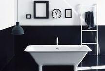 Black + White Interiors / All black and white interiors.