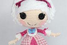Muñecas a Crochet / Todo tipo de amigurumis con su correspondiente patrón, ideales para todos los niveles.