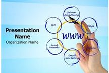 Online Marketing PowerPoint Templates / These Online Marketing Powerpoint templates has been designed by professional designers, Which is read to use for marketing presentation,online sales presentations,internet advertising and more. Get your Online Marketing Ppt Template now!!
