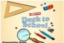 Back To School PowerPoint Templates / We provide educational powerpoint templates and themes that you can used for your education ppt presentation. Download hundreds of education ppt templates and backgrounds here!