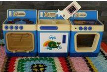 Vintage toys / A happy slice of toy nostalgia