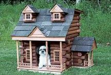 Luxury Dog Houses / what?... a dog can dream too!