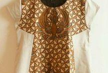 Batik/Tenun Tops