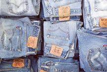 J e a n s and  M o r e J e a n s / Inspirações com peças jeans