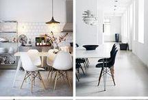 H o m e // D e c o r a ç ã o / Inspirações e amores de decoração de casa.  Do mas clen ao mais sofisticado