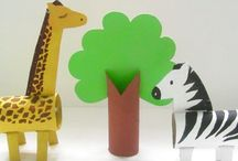 Toilet paper roll crafts / Easy crafts that show the endless possibilities of ordinary cardboard tubes.