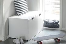 Hallways - IKEA FAMILY MAGAZINE / Hallways pictured in IKEA FAMILY MAGAZINE