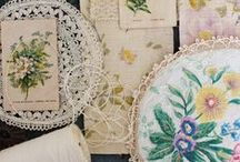 linen snippets / by Vicky Trainor /The Linen Garden