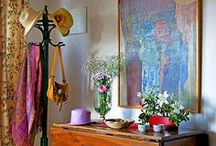 CREATING HOME / design tips, vignettes, home furnishings, accessories / by Diana Benson