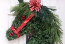 ~*Whimsical Wreaths*~ / All kinds of beautiful wreaths... / by Diana Fisher