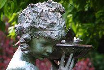 ~*Baths For The Birds*~ / rub a dub dub... / by Diana Fisher