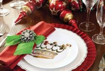 ~*Christmas Creations, Dinnerware*~ / Some beautiful christmas dinnerware... / by Diana Fisher