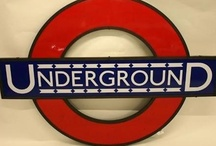 Font Sunday - Fonts on the Underground / 13 January 2013 - A collection from people's contributions to The Design Museum's #FontSunday fun on twitter.