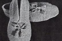 Vintage Knit And Crochet