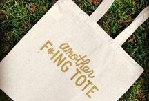 Fonts on Summer Totes - Font Sunday / 14 July 2013 - A collection from people's contributions to The Design Museum's #FontSunday fun on twitter.