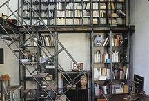 bookshelves / by Ana Herrero Deco