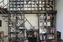 bookshelves / by Ana Herrero Deco