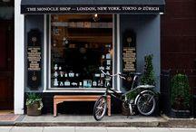 cafes & retail spaces