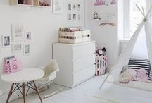 We Love! Kids' rooms / Ideas and inspiration for colourful, fun and functional kids' rooms that are made for work, rest and play!