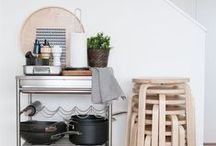 Small space ideas / Ideas for decorating small spaces and organisational top tips.