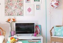 Gallery picture wall / Put your personality into a picture wall. They make us smile, store our memories, inspire us, show off our artwork, liven up dull spaces... Make yours a part of you.  / by live from IKEA FAMILY