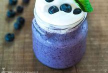 Fruit Smoothie Recipes / Smooth, creamy delicious Fruit Smoothie Recipes! Protein Packed To Squash Cravings & keep you healthy!