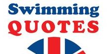 Swimming Quotes & Inspiration / Get inspired with these fun and inspiring quotes on swimming.