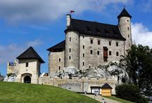 Zamek Bobolice/Bobolice Castle / Królewski Zamek Bobolice na Jurze Krakowsko-Częstochowskiej/ Royal Castle of Bobolice in the region of Jura in Poland