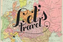 Wanderlust: I wanna travel to... / I'll work to travel the world, yes i will.  / by G • C • C