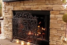 Fire Place & Mantle / by Rhona Gb
