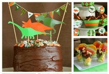 Dinosaur Party / Dinosaur Party Ideas and Inspiration, Dinosaur Party food, Dinosaur Party supplies, Dino party decorations, Dinosaur Invitations, Dino party games. Heaps of fun dinosaur kids party ideas to plan your child's next dinosaur birthday party.
