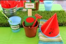 Little Gardener or Green Thumb Party / Gardening or Green Thumb party ideas & Inspiration, gardening kids activities, party favours, garden themed food, vege and flower theme cakes and cupcakes, garden party decorations, party supplies and lots more messy gardening stuff for kids!