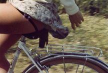 Ride it / Girls on bikes. Cars. Bike lover.
