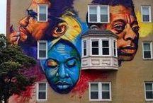 Art - Street Art / by Elaine Mote