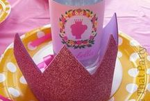Princess Party / Girls Party Ideas, Princess Party Ideas, Party food, Cakes and recipies