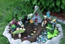 Fairy Gardens / Create an imaginative, miniature landscape for the fairies in your backyard! Enter a world where tiny plants become tall trees, and natural materials are imaginatively transformed into landscape decor. A great family activity for all ages!