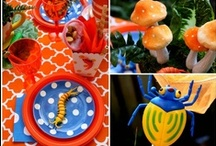 Bug / Creepy Crawly Party / Bug Party ideas, creepy crawly party theme, bug party food, bug party games, bug party invitations, party decorations, bug party cakes, party tables, kids party ideas.