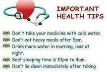 Get healthy tips / by Elaine Mote