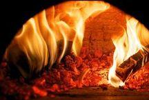 Le attrezzature della pizza / Forno per la pizza, Legna per il forno, strumenti per fare la pizza