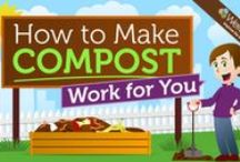 Composting / Backyard composting returns organic waste back into the soil. Composting is a great teaching tool in educating children about the cycle of life.