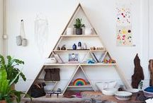 home vignettes / inspiring displays in the home